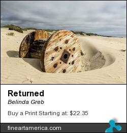 Returned by Belinda Greb - Photograph - Photograph, Photography, Photographs