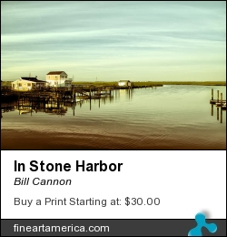 In Stone Harbor by Bill Cannon - Photograph - Photo