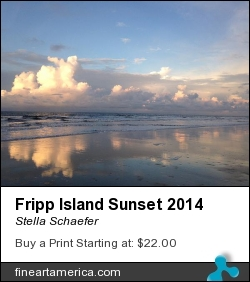 Fripp Island Sunset 2014 by Stella Schaefer - Photograph - Photography