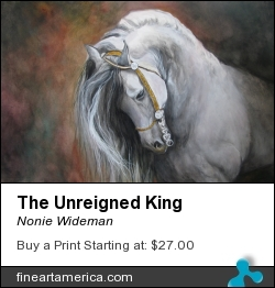 The Unreigned King by Nonie Wideman - Painting - Watercolor