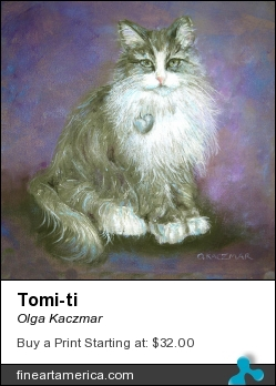Tomi-ti by Olga Kaczmar - Painting - Oil On Canvas