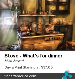 Stove - What's For Dinner by Mike Savad - Photograph - Hdr Photography