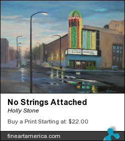 No Strings Attached by Holly Stone - Painting