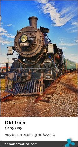 Old Train by Garry Gay - Photograph - Photography