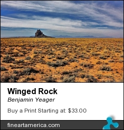 Winged Rock by Benjamin Yeager - Photograph - Color Photo