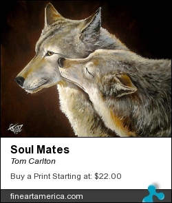 Soul Mates by Tom Carlton - Painting - Acrylic Paint