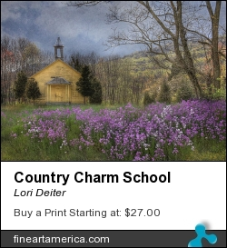 Country Charm School by Lori Deiter - Photograph - Photography