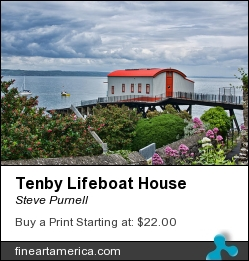Tenby Lifeboat House by Steve Purnell - Photograph - Photograph