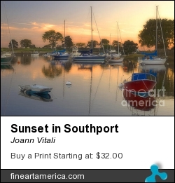Sunset In Southport by Joann Vitali - Photograph - Photography