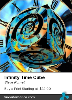 Infinity Time Cube by Steve Purnell - Photograph - Photograph