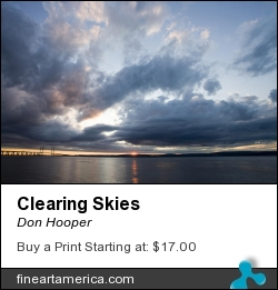 Clearing Skies by Don Hooper - Photograph - Photography