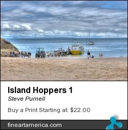 Island Hoppers 1 by Steve Purnell - Photograph - Photograph