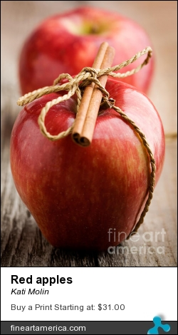 Red Apples by Kati Molin - Photograph