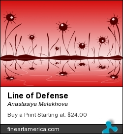 Line of Defense by Anastasiya Malakhova - Scalable Vector Graphics