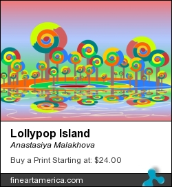 Lollypop Island by Anastasiya Malakhova - Scalable Vector Graphics