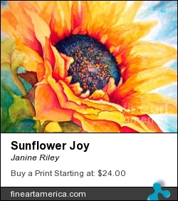 Sunflower Joy by Janine Riley - Painting