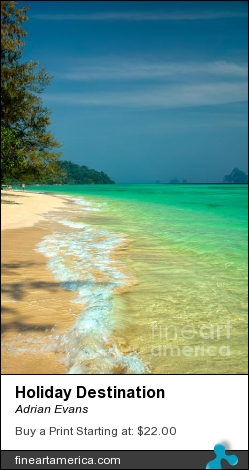 Holiday Destination by Adrian Evans - Photograph