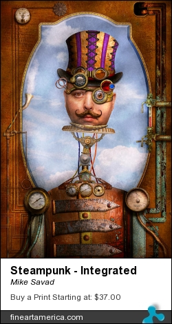 Steampunk - Integrated by Mike Savad - Photograph - Digital Art