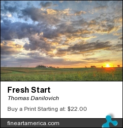 Fresh Start by Thomas Danilovich - Photograph