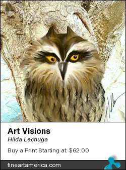 Art Visions by Hilda Lechuga - Painting - Digital Painting