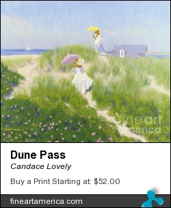 Dune Pass by Candace Lovely - Painting - Oil On Linen