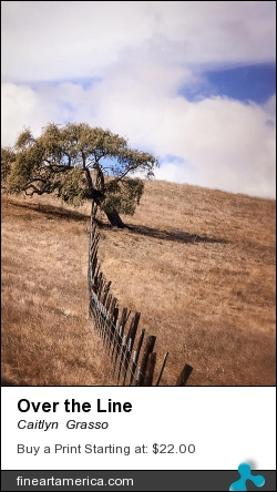 Over The Line by Caitlyn  Grasso - Photograph - Photograph