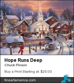 Hope Runs Deep by Chuck Pinson - Painting - Oil On Canvas