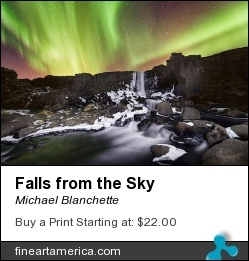 Falls From The Sky by Michael Blanchette - Photograph
