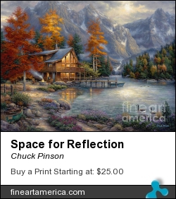 Space For Reflection by Chuck Pinson - Painting - Oil On Canvas