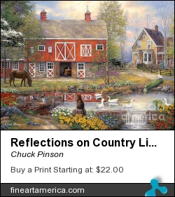 Reflections On Country Living by Chuck Pinson - Painting - Oil On Canvas