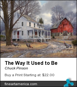 The Way It Used To Be by Chuck Pinson - Painting - Oil On Canvas