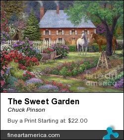 The Sweet Garden by Chuck Pinson - Painting - Oil On Canvas