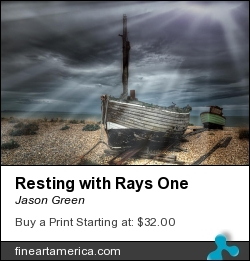 Resting With Rays One by Jason Green - Photograph