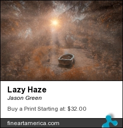 Lazy Haze by Jason Green - Photograph