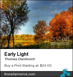 Early Light by Thomas Danilovich - Photograph
