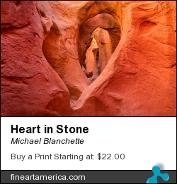 Heart In Stone by Michael Blanchette - Photograph