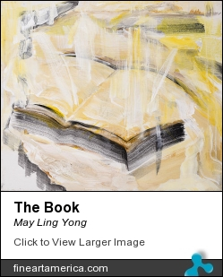 The Book by May Ling Yong - Painting - Acrylic On Canvas