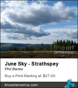 June Sky - Strathspey by Phil Banks - Photograph