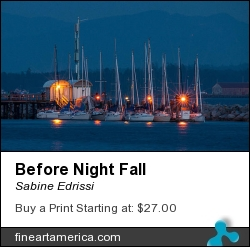 Before Night Fall by Sabine Edrissi - Photograph - Photography