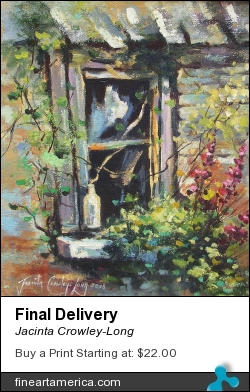 Final Delivery by Jacinta Crowley-Long - Painting - Oil
