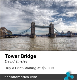 Tower Bridge by David Tinsley - Photograph - Digital Photography