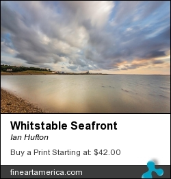 Whitstable Seafront by Ian Hufton - Photograph - Photograph