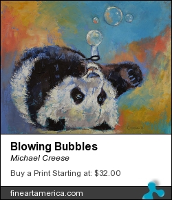 Blowing Bubbles by Michael Creese - Painting - Oil On Canvas