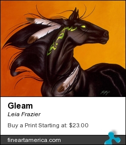 Gleam by Leia Frazier - Painting - Acrylic On Canvas
