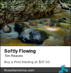 Softly Flowing by Tim Reaves - Photograph - Photography