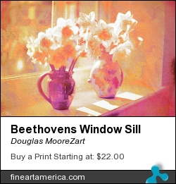 Beethovens Window Sill by Douglas MooreZart - Painting - Painting