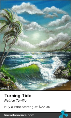 Turning Tide by Patrice Torrillo - Painting - Acrylic On Canvas