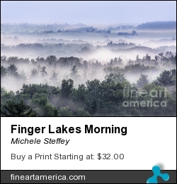 Finger Lakes Morning by Michele Steffey - Photograph - Digital Photograph