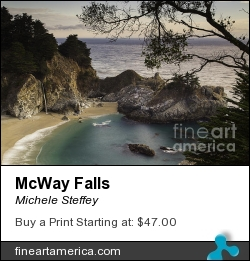 Mcway Falls by Michele Steffey - Photograph