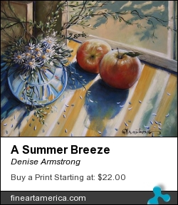 A Summer Breeze by Denise Armstrong - Painting - Acrylic